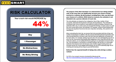 Test Drive - Risk Calculator